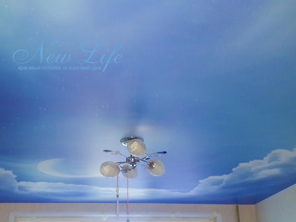 Потолок с арт печатью