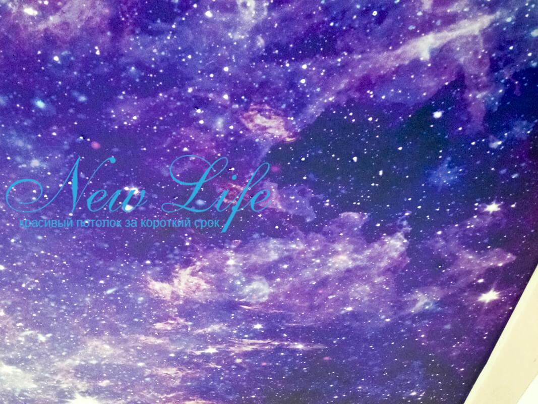Звёздное небо с арт-печатью