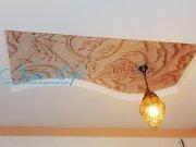 Фотопечать на натяжном потолке - лепнина