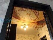 Фотопечать на натяжном потолке матовой фактуры антикварная карта рис. 11 из каталога Антикварные карты