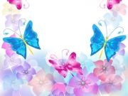 Фотопечать на потолке: Бабочки 35