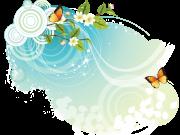 Фотопечать на потолке: Бабочки 41