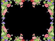 Фотопечать на потолке: Цветы 150