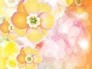 Фотопечать на потолке: Цветы 94