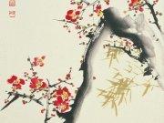 Фотообои на стену: Японская графика 02