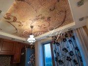 Двухуровневый эксклюзивный натяжной потолок