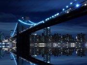 Фотопечать на потолке: Город 24