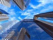 Фотопечать на потолке: Город 26