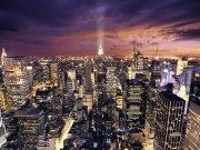 Фотопечать на потолке: Город 30