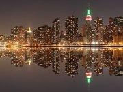 Фотопечать на потолке: Город 59