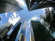 Фотопечать на потолке: Город 6