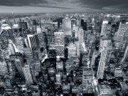Фотопечать на потолке: Город 71