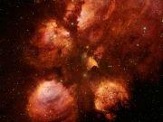 Фотопечать на потолке: Космос 54