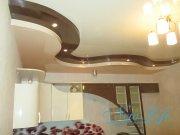 трехуровневый потолок и лаковый фактур