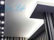 Многоуровневый потолок с прямыми углами