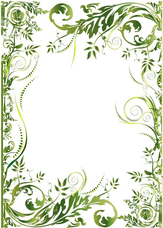 Орнаменты рамки для поздравлений