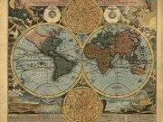 Фотообои на стену: Старинные карты  02