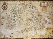 Фотообои на стену: Старинные карты 08