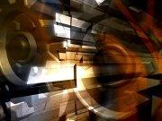 Фотопечать на потолке: Абстракция 16