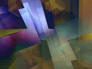 Фотопечать на потолке: Абстракция 43