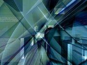 Фотопечать на потолке: Абстракция 8