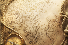Карты антикварные