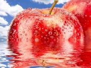red apple - manzana roja