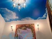 арт печать небо на матовой фактуре