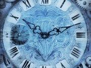 Фотообои на стену: Часы 05