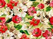 Фотопечать на потолке: Цветы 109