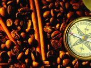 Кофе, корица и компас, изображение 1