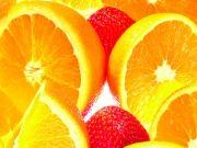 Фруктовая композиция из цитрусовых и клубники, изображение 6