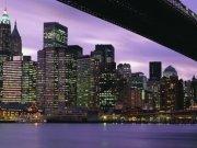 Фотопечать на потолке: Город 20