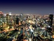 Фотопечать на потолке: Город 40