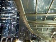 Фотопечать на потолке: Город 62