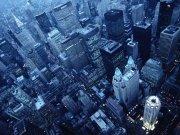 Фотопечать на потолке: Город 68