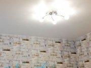 Белый натяжной потолок из матового полотна