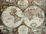 Фотообои на стену: Старинные карты 05