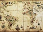 Фотообои на стену: Старинные карты 11