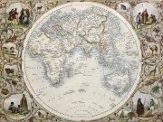 Фотообои на стену: Старинные карты  12