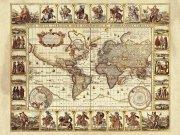 Фотообои на стену: Старинные карты  13