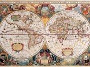 Фотообои на стену: Старинные карты  16