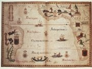 Фотообои на стену: Старинные карты  20