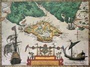Фотообои на стену: Старинные карты  21