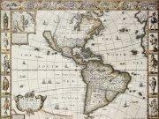 Фотообои на стену: Старинные карты 23